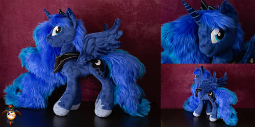 Princess Luna with fur