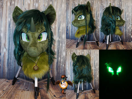 Clover the Clever fursuit head