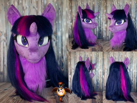 Twilight Sparkle fursuit head