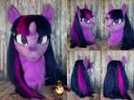 Twilight Sparkle fursuit head by Essorille