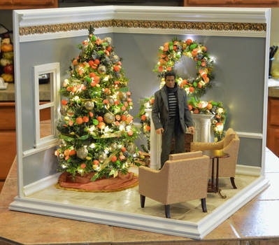 Regent Miniatures Christmas Room 1:6 scale