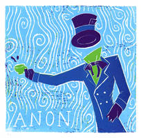 Anonymous in Wonderland- Print by NitrusOxide