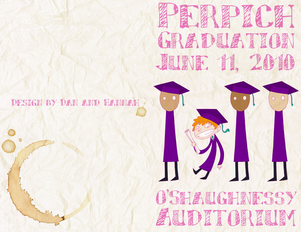 Graduation Brochure by NitrusOxide