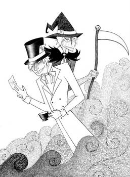 Batman- Hatter and Crow