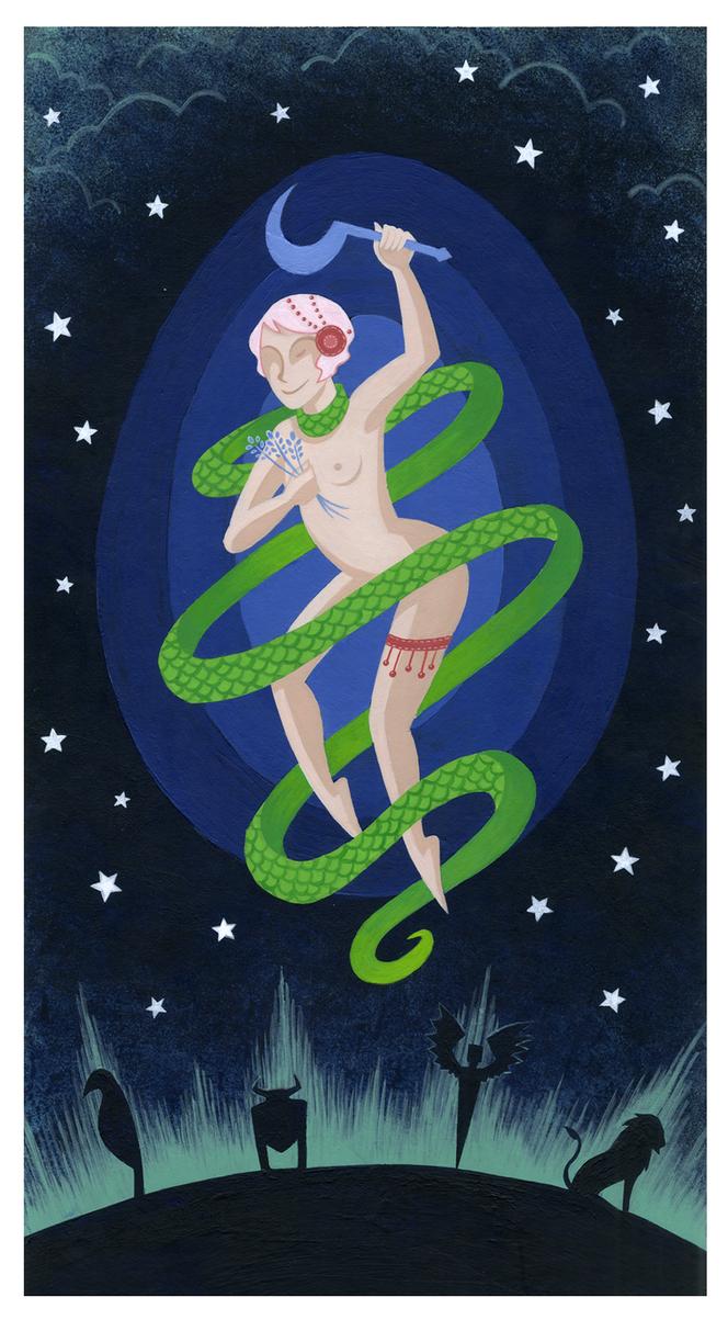 Le Monde - Tarot by NitrusOxide