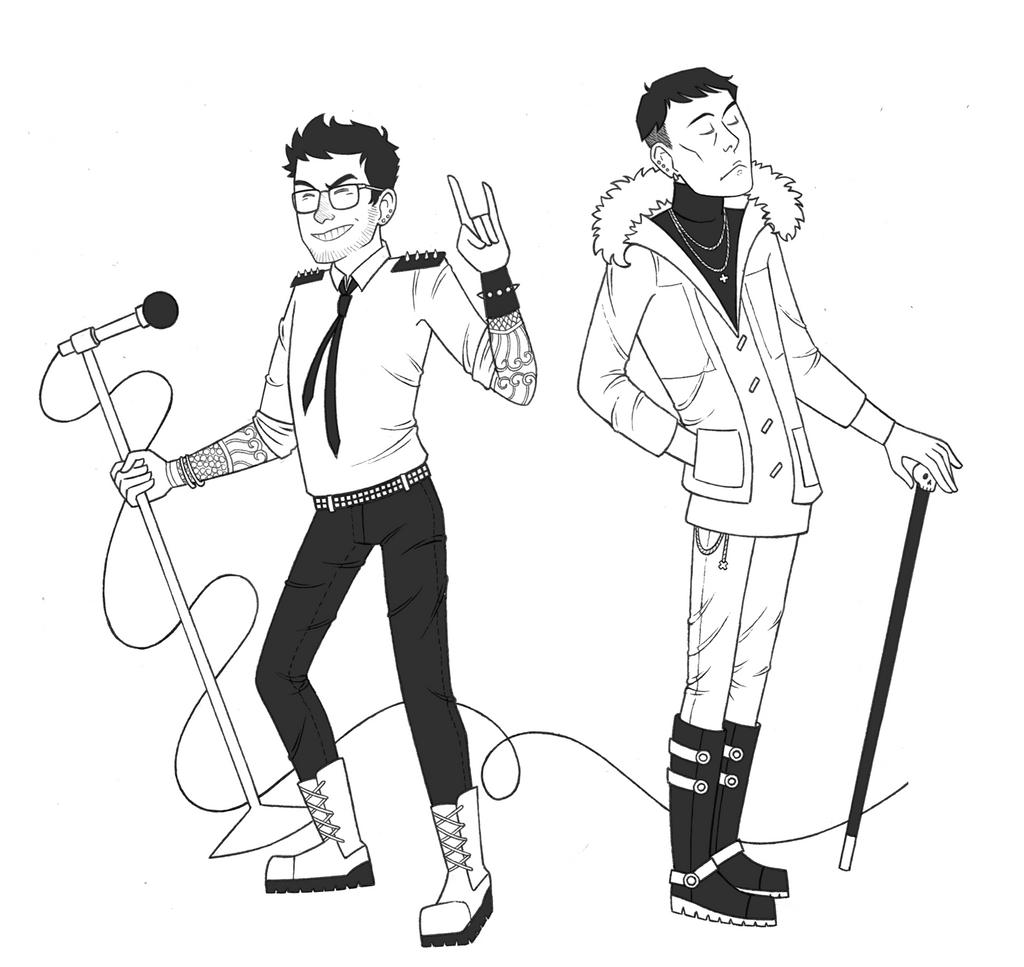 Rock Star Science Boyfriends by NitrusOxide