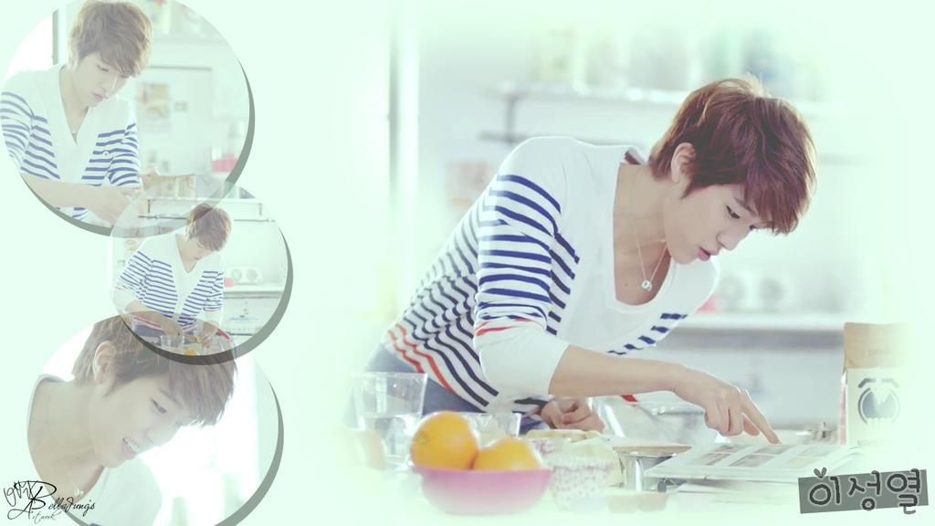 Sungyeol 'Man in Love' Wallpaper by bellajung