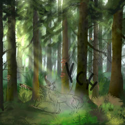 Forest (YCH) by Alissa1010