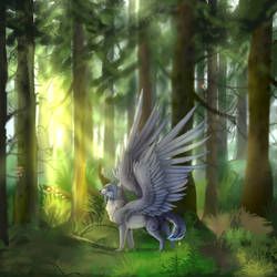 Forest (Done Ych) by Alissa1010