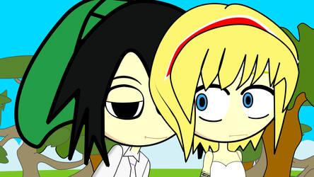Edith and kentaro by Fallito93
