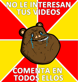 Memes oso forever alone