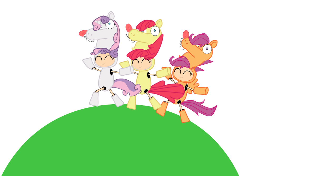 cutie mark crusaders by Fallito93