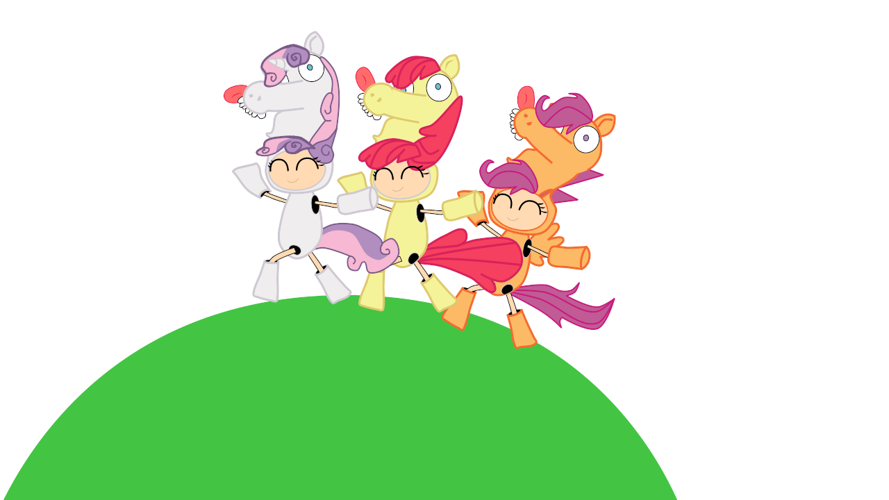 cutie mark crusaders by Fallito93