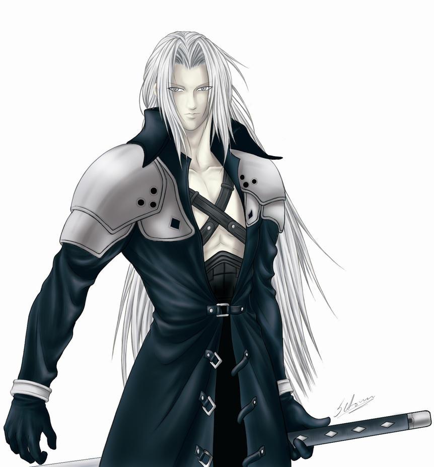 Segundo Sephiroth by Setsuna-Yagami