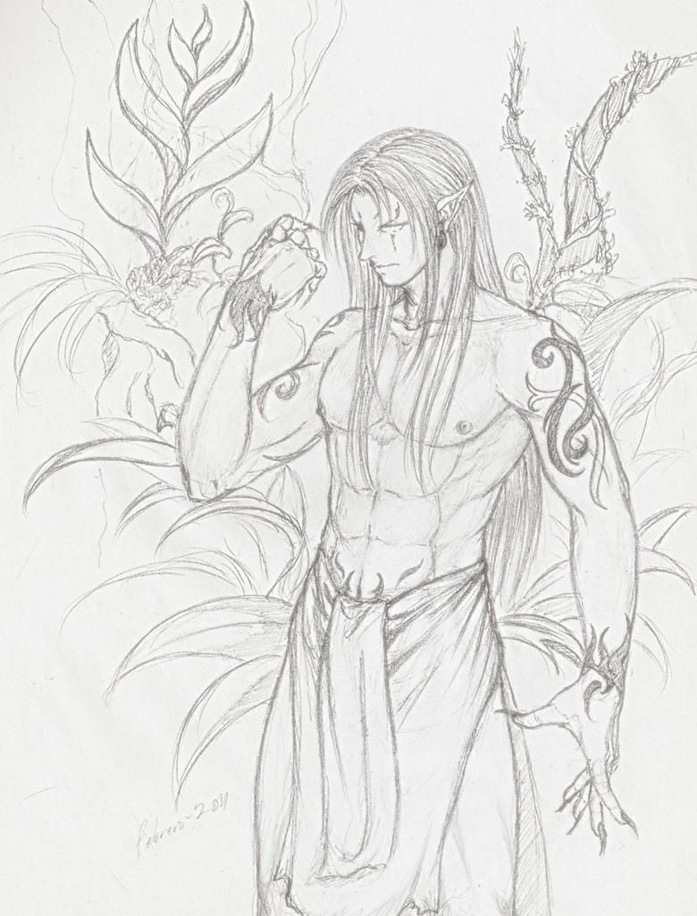 Elfo sketch by Setsuna-Yagami on DeviantArt