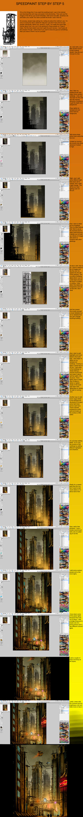 .:Speedpaint Step by Step 5:. by David-Holland