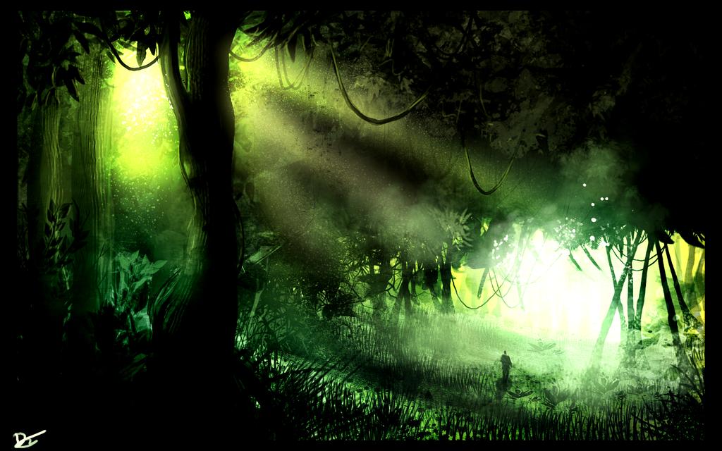 .:Jungle001:. by David-Holland