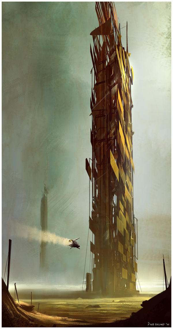 Junk_tower by David-Holland