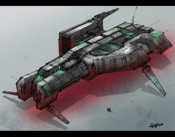 .:Ship Sketch018:. by David-Holland
