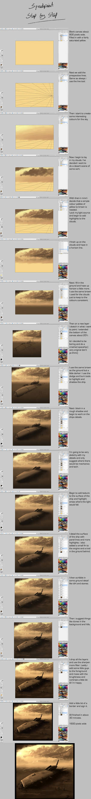 .:Speedpaint step by step:. by David-Holland