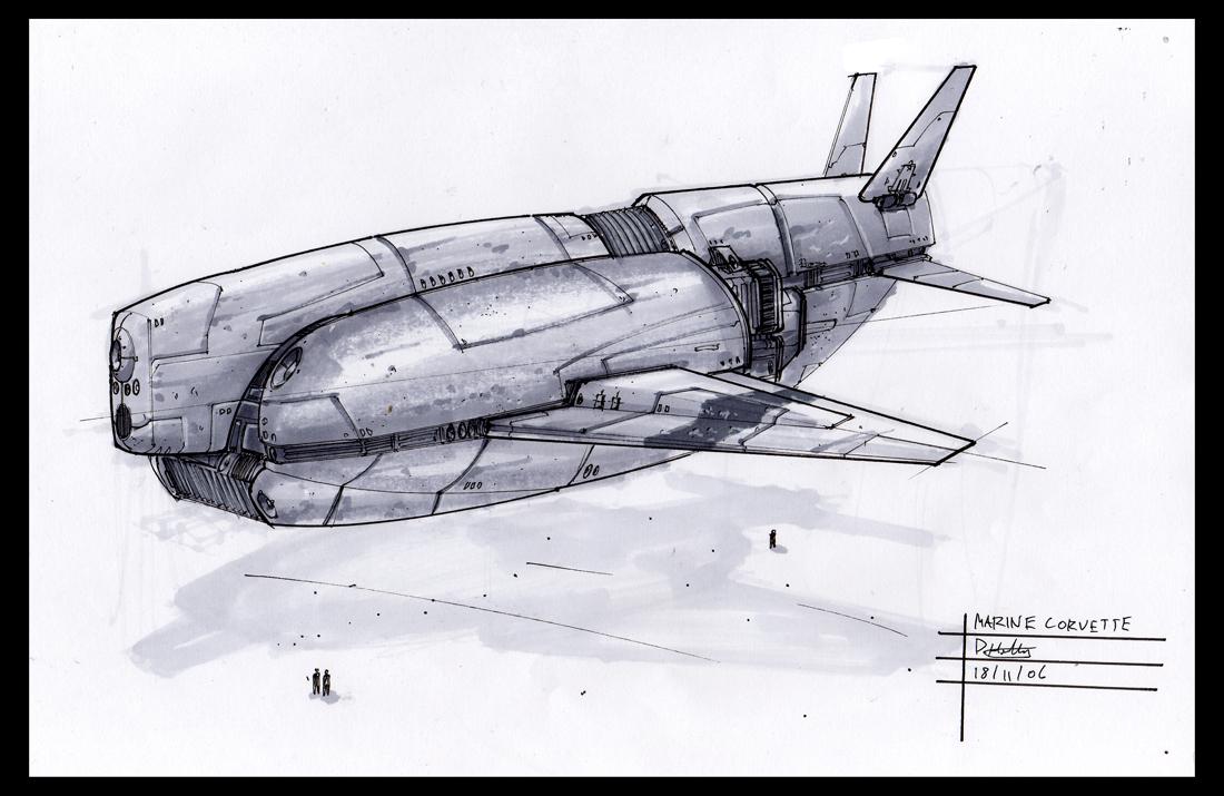 ship sketch 61 by david holland on deviantart