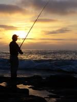 The Lone Fisherman by abenoking