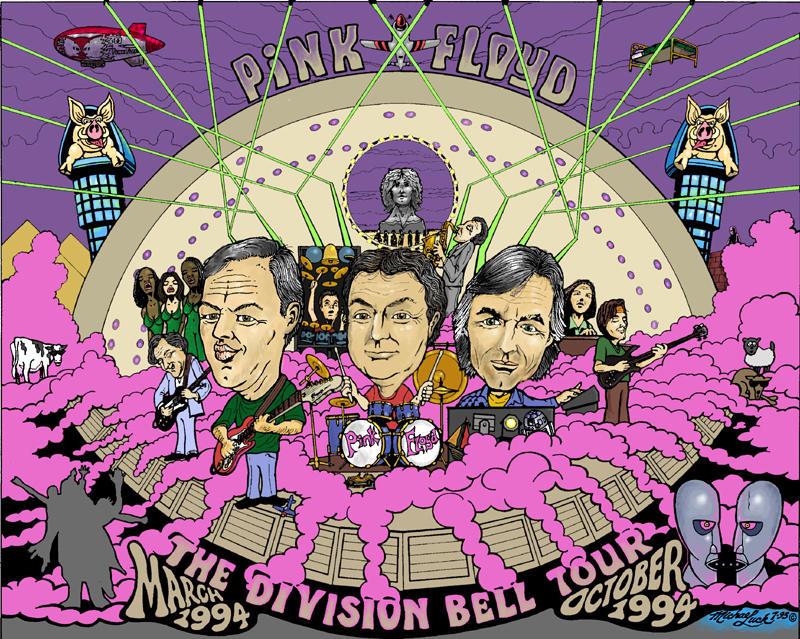 PINK FLOYD 94 by digitalrobotics