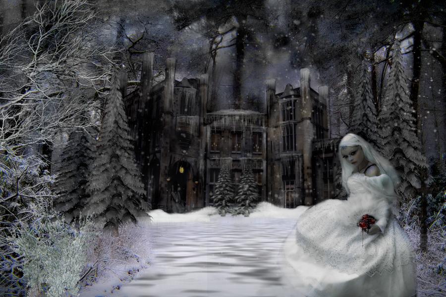 goth winter by magicsart on deviantart