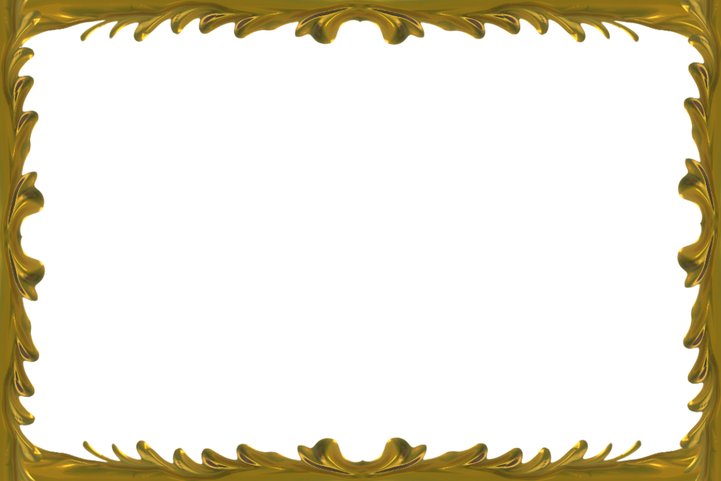 Gold Frame Png | New Calendar Template Site