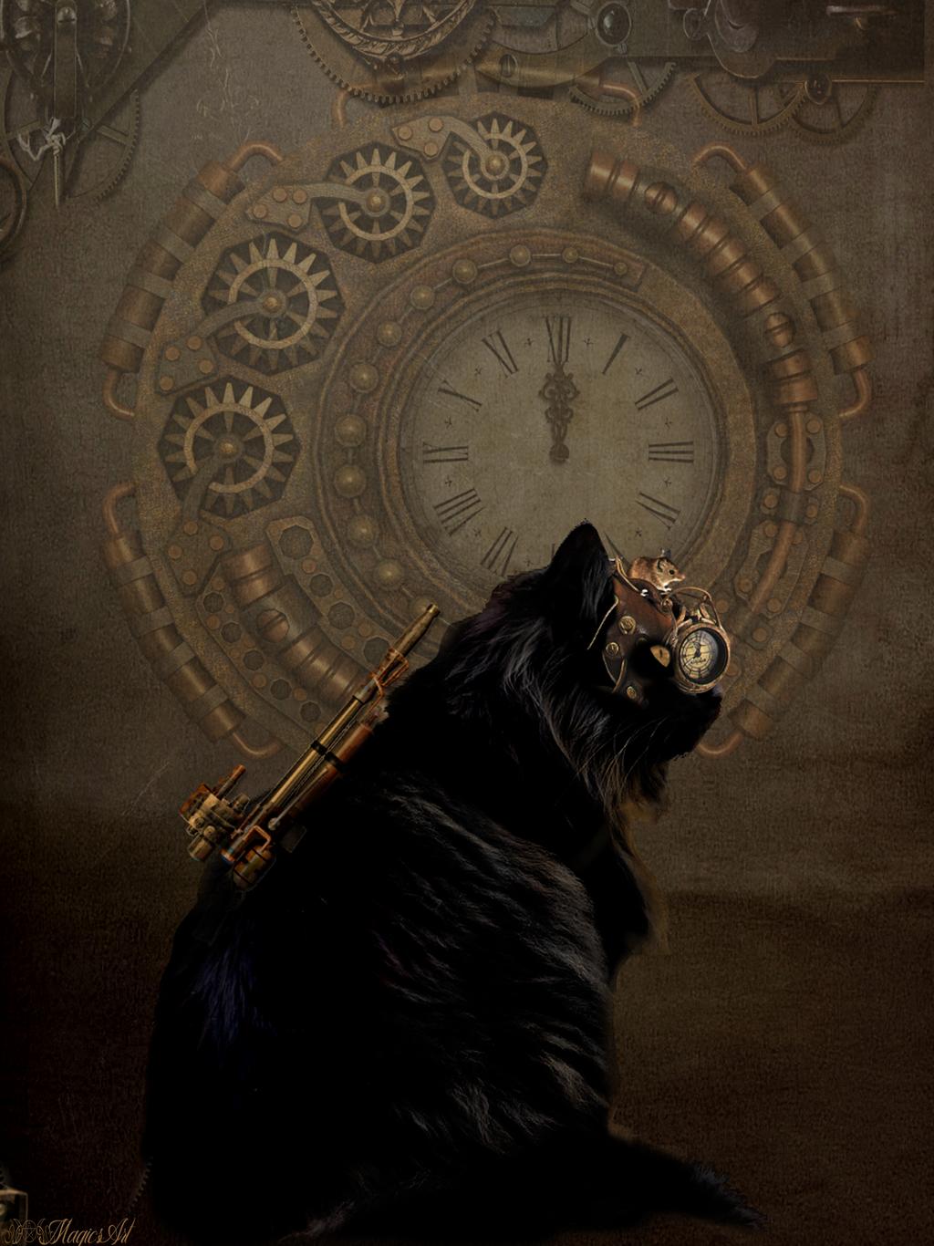 steamcat by magicsart