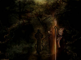 Sword Of Sacrifice  by magicsart