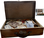 Old Suitcase With Photos