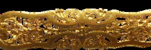 Gold Ornament Brosch by magicsart