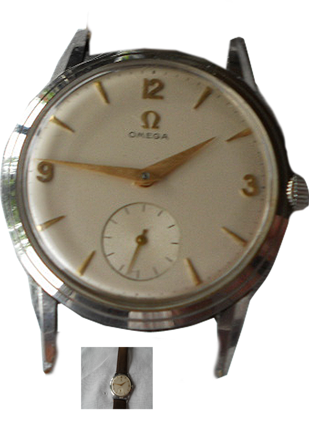 pin clock watch omega - photo #1