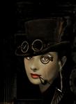 steampunk audrey hepburn