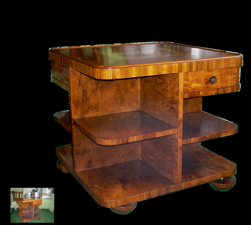 Art deco table by magicsart on deviantart - Table de nuit art deco ...