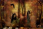 autumn fairy dryads