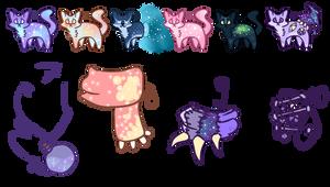 Cat Adopt Batch #2 Galaxy theme [OPEN]
