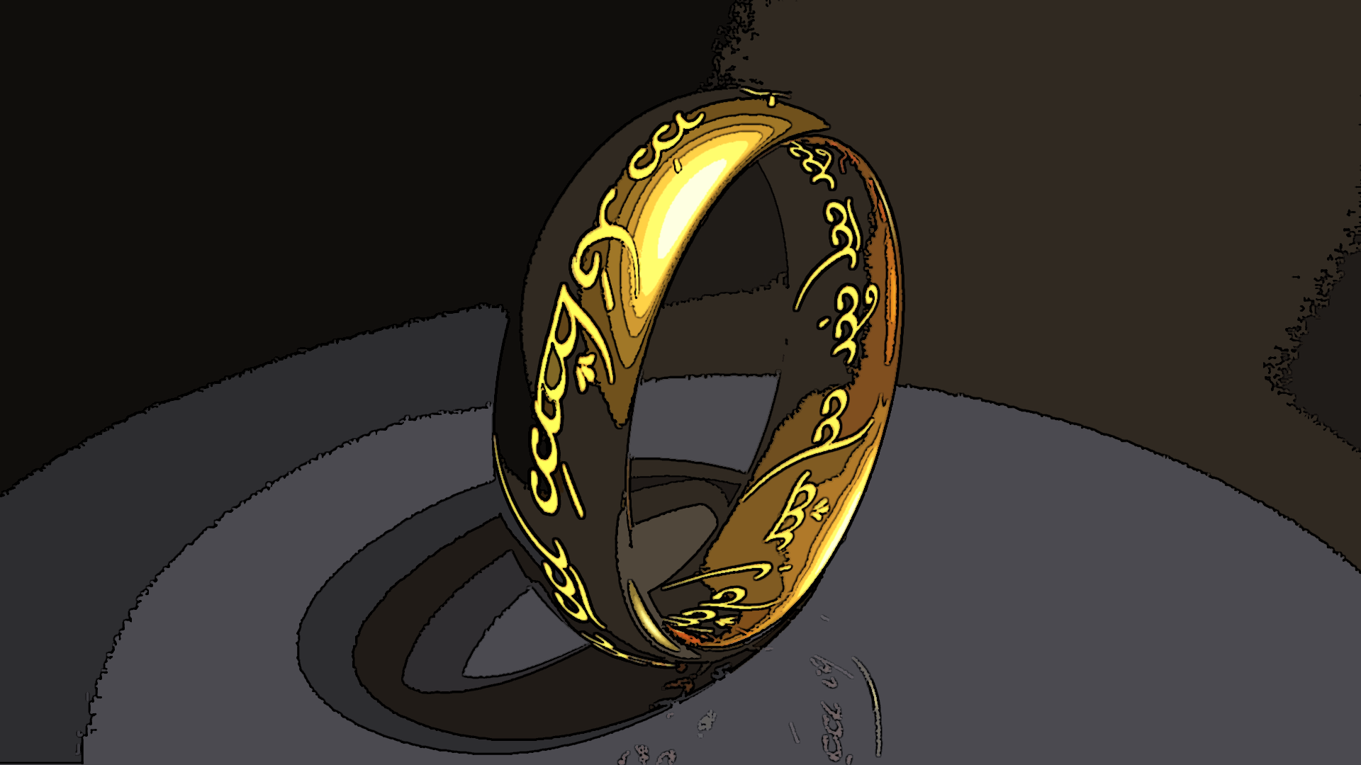The One Ring Artistic Wallpaper By Workfromhomegal On Deviantart