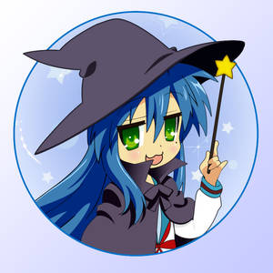 Konata Witch Vector