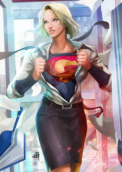 Supergirl by ellinsworth
