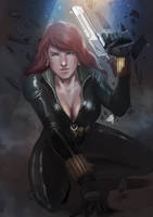 Black Widow by ellinsworth