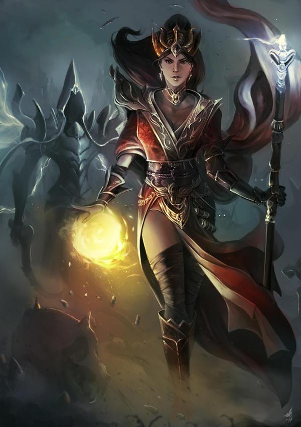 Diablo 3 Reaper of Souls - The Wizard by ellinsworth