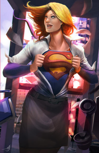 Supergirl, Changing! by ellinsworth