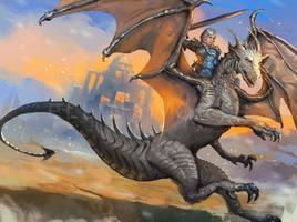 Dragon War by ellinsworth