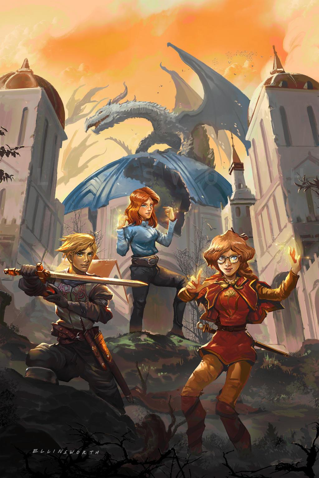 A Dragons of Introvertia Novel: Book Eight
