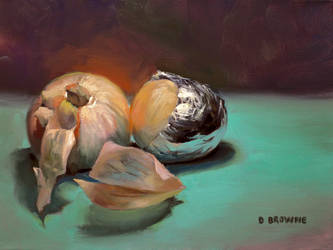 Foiled Onion by DavidBrowne
