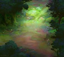 Forest map piece by DavidBrowne
