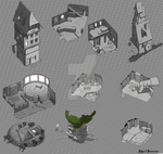 A handful of building concepts