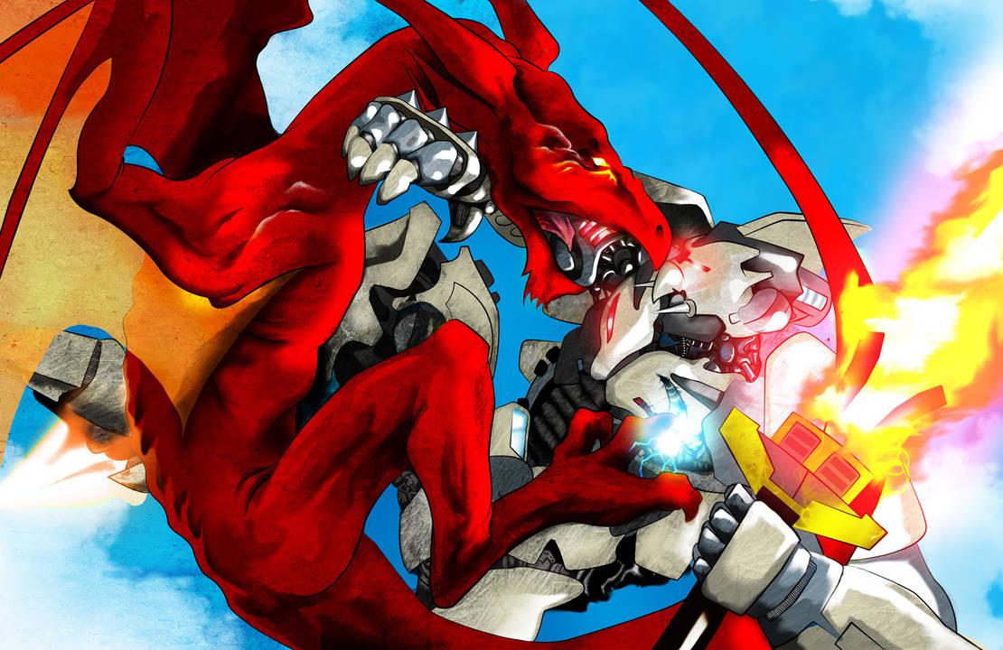 Dragon VS Robot